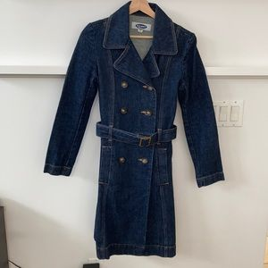 Old Navy Long Jean Jacket